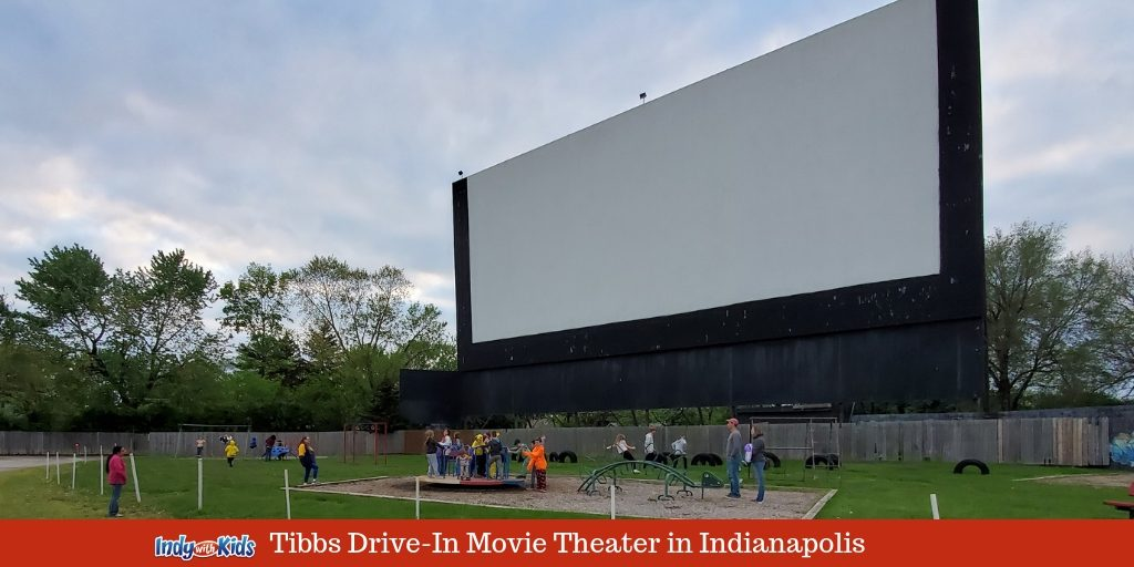 Tibbs Drive In Theater Is Open Indy With Kids