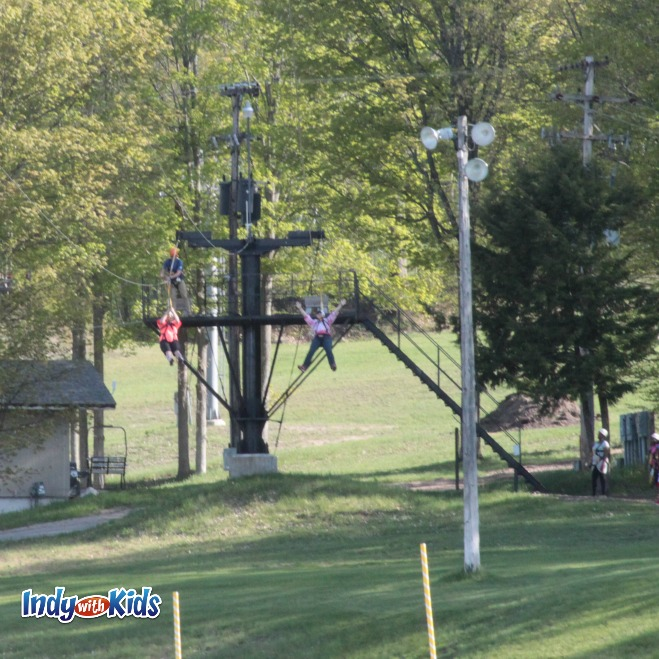 petoskey area michigan zipline at boyne mountain resort