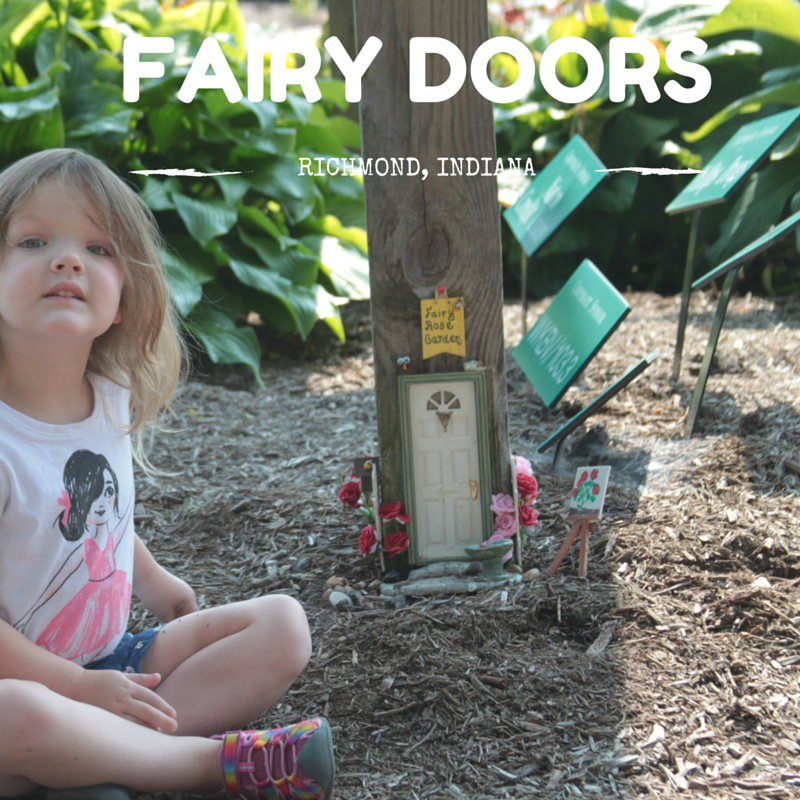 FAIRY DOORS RICHMOND indiana free things to do with kids