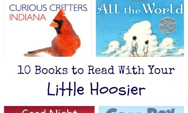 10 Books for Little Hoosiers | Baby's 1st Year in Indy