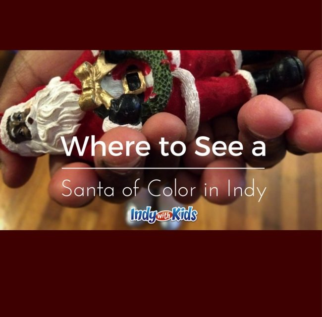 Places to Visit a Black Santa Claus in Indianapolis