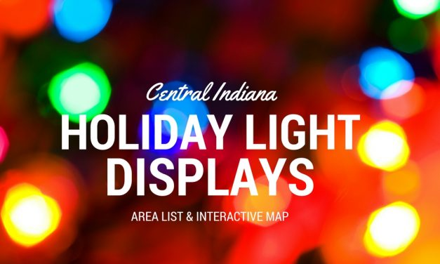 Christmas Lights List for Indianapolis and Central Indiana | 2018