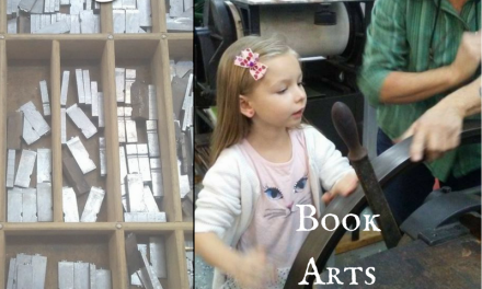 Book Arts Collaborative Offers History Lessons and Fun with Letterpress!