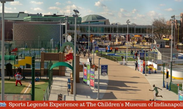 The Riley Children's Health Sports Legends Experience at The Indianapolis Children's Museum