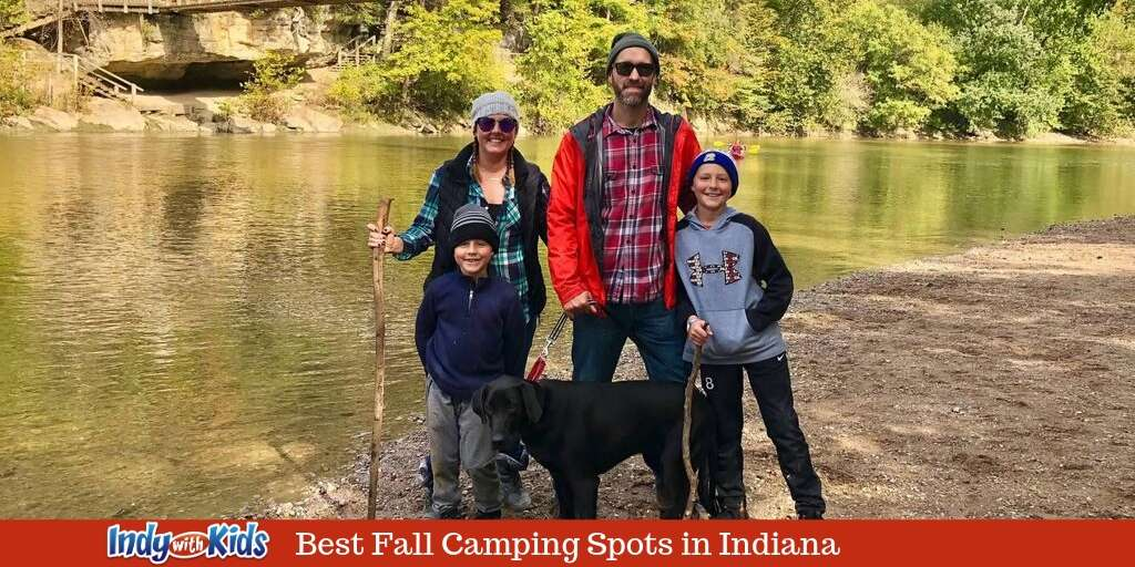 The Three Best Fall Camping Spots in Indiana