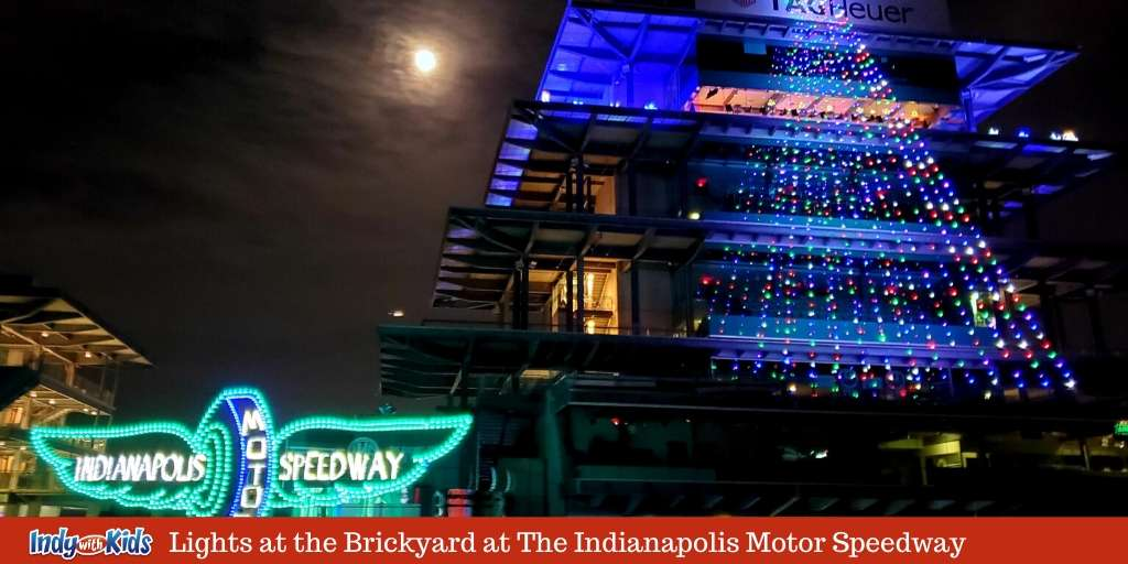 Lights at the Brickyard at The Indianapolis Motor Speedway