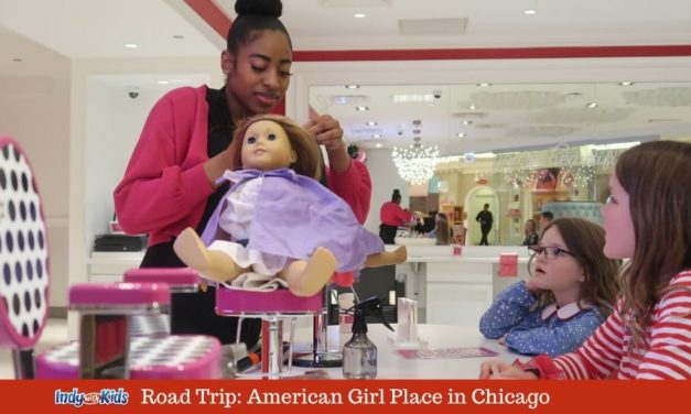 A Doll Cafe, Salon & Hospital at American Girl Place in Chicago