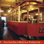 Eat in a Trolley Car in This Downtown Indianapolis Restaurant